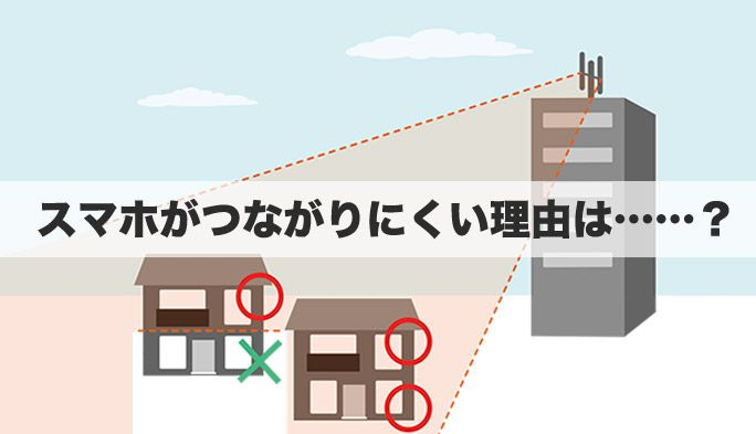 タワマンやエコガラスは電波が届きにくい?自宅でスマホがつながりにくい理由と解決策を解説