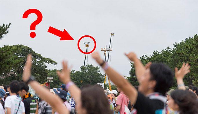 夏フェス「ROCK IN JAPAN FESTIVAL」で、観客のケータイをつなげ!