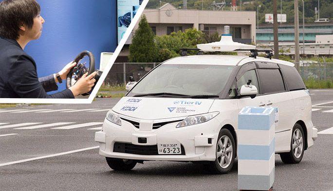 実用化が待たれる「自動運転車」のレベル4実験に乗車! 5Gが未来の社会を変える?