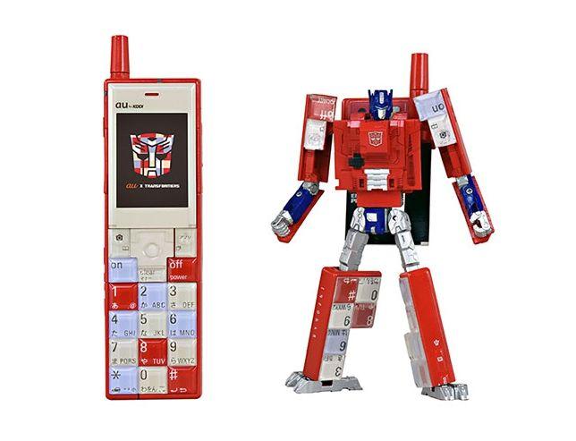 【メンバー限定】携帯電話型変形玩具INFOBAR OPTIMUS PRIME(NISHIKIGOI)