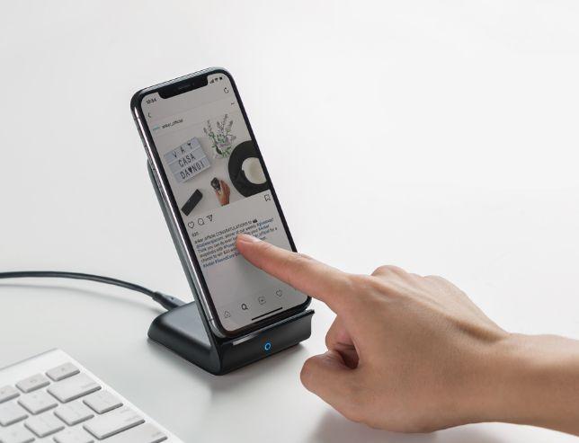 【USB充電器セット】Anker PowerWave 7.5 Stand
