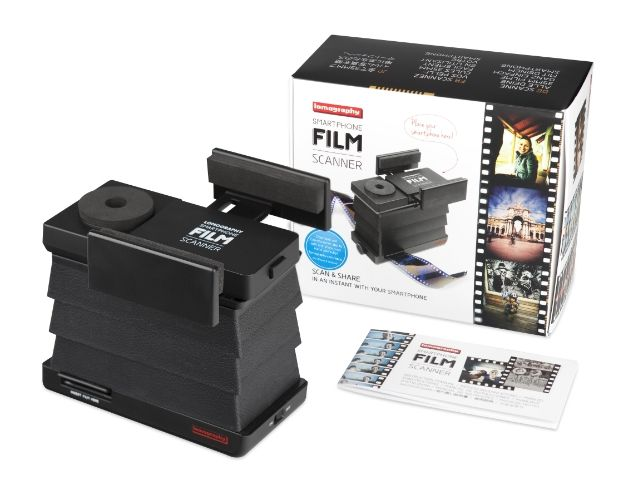 古いネガフィルムを簡単スキャン! 『ロモグラフィー スマートフォン スキャナー』